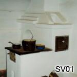 SV1 - Šporák na bielo