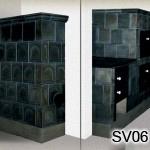 SV6 - Šporák kachľový