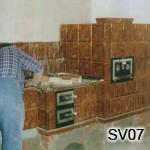 SV7 - Kachliar pri práci