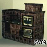 SV9 - Šporák kachľový