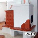 PV10 - Pec sálavá