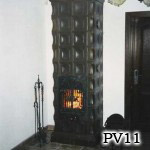 PV11 - Pec klasická s ťahmi, sálavé teplo.