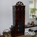 PV18 - Pec sálavá s lavičkou