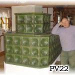 PV22 - Kachliar po rekonstrukcii starsej pece