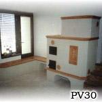 PV30 - Pec sálavá stavaná pri Bratislave