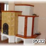 PV32 - Pec sálavá