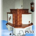 PV33 - Pec sálavá