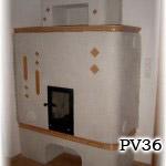 PV36 - Original sálavá pec