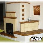 PV39 - Pec sálavá i teplovzdušná, tj. kombinovaná