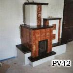 PV42 - Pec sálavá.