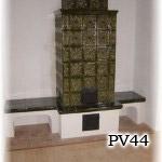 PV44 - Pec originál sálavá stavaná pri Liptovskom Mikuláši.