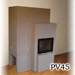 PV45 - Pec originál sálavá stavaná v Žiline.