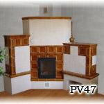PV47 - Pec sálavá s presklennými dvierkami