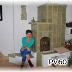 PV60    Pec sálavá originál, stavaná u Jozefa Bitalu, r.2008