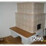PV74    Pec originál sálavá bezroštová, stavaná pri Piešťanoch.
