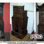 PV80 - Pec rozobratá a postavena na inom mieste v Humennom
