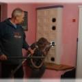 PV132 - Kontrola kachľovej peci, a následne jej čistenie