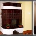 PV149 - Pec originál sálavá, s automatickou reguláciou, vyhrieva cez stenu ďalšiu izbu, Čadca
