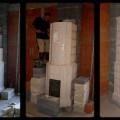 PV167 - Pec originál sálavá, vzhľadom na klasický spôsob. Kachlice sú ručná výroba. Reaizácia kaštiel pri Leviaciach.