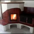 PV193 Pec originál sálavá s malým stolovým šporákom, Stupava