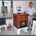 PP14 - Prenosná pec originál sálavá, vážiaca asi 400 kg