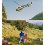 Sporak s helikopterou